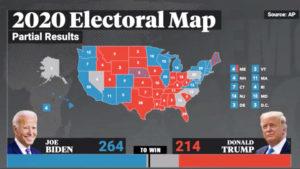 Biden toma la ventaja en Georgia y Pensilvania y se acerca a la presidencia