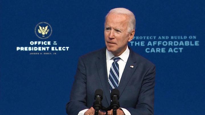"Joe Biden Calls Trump's Refusal to Concede Presidential Election an ""Embarrassment"""