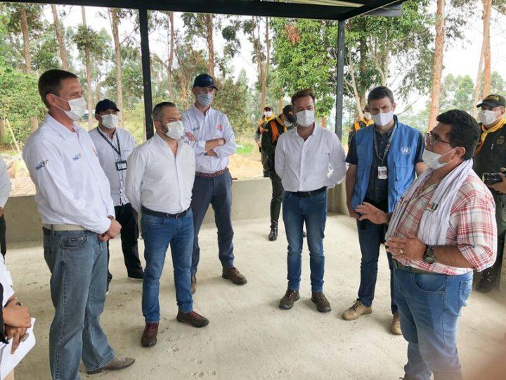 Economía circular y apoyo privado a la reincorporación en Tolima