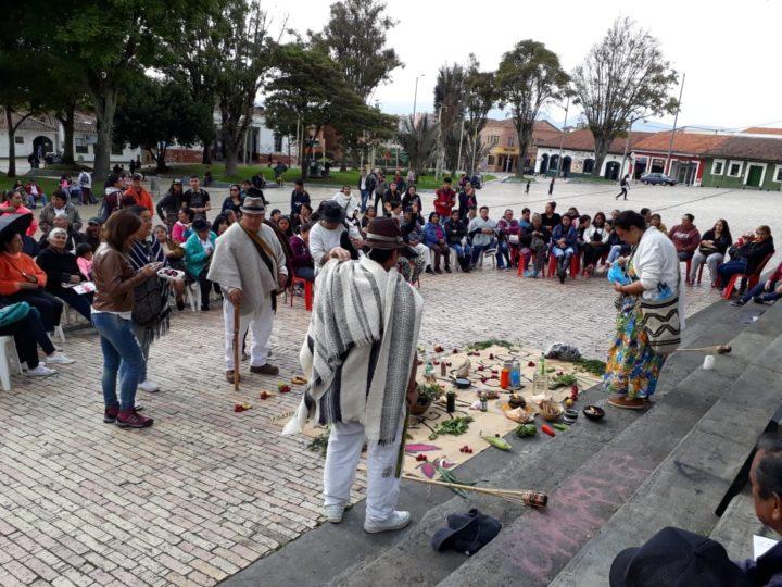 Cabildo indígena Muisca de Bogotá en alto riesgo por Covid 19
