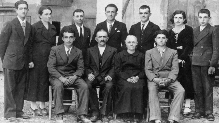 Genoeffa Cocconi, famiglia Cervi