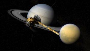 NASA halla una señal de vida de Titán, la luna de Saturno