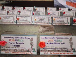 Colombia: jornada de denuncia ante la violación de los derechos humanos