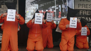 Rettet Julian Assanges Leben! Stuttgarter Friedenspreisträger 2020