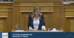 ΜέΡΑ25: πλήγμα στην κοινοβουλευτική δημοκρατία η άρση ασυλίας της Αγγελικής Αδαμοπούλου