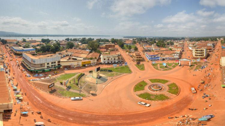 Bangui city centre