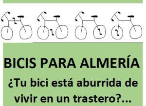España: «Bicis para Almería» busca desarrollar la solidaridad y colaborar con el medio ambiente