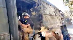 Periodista Claudia Aranda nuevamente detenida