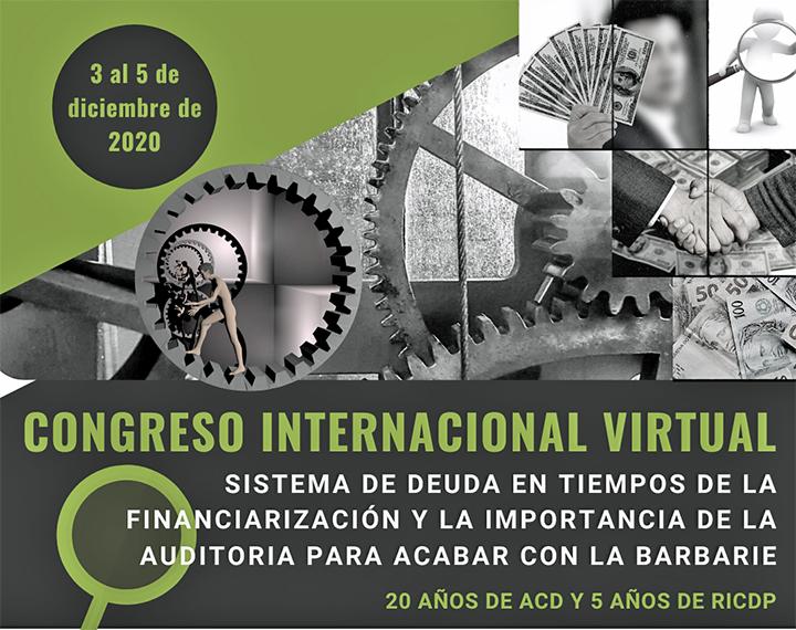 Auditoría Ciudadana de la Deuda: Congreso virtual «para interrumpir la barbarie»