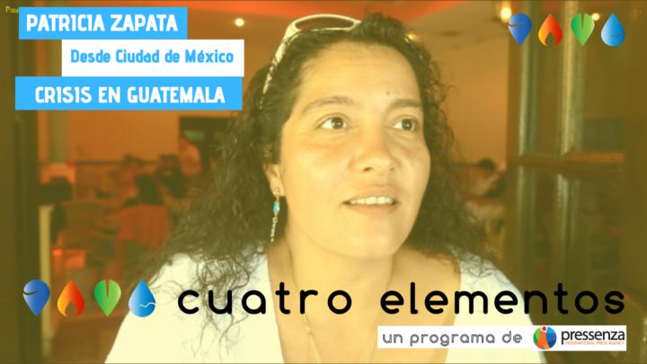 """""""En Guatemala los poderes fácticos cooptaron todos los organismos del Estado"""" Patricia Zapata"""
