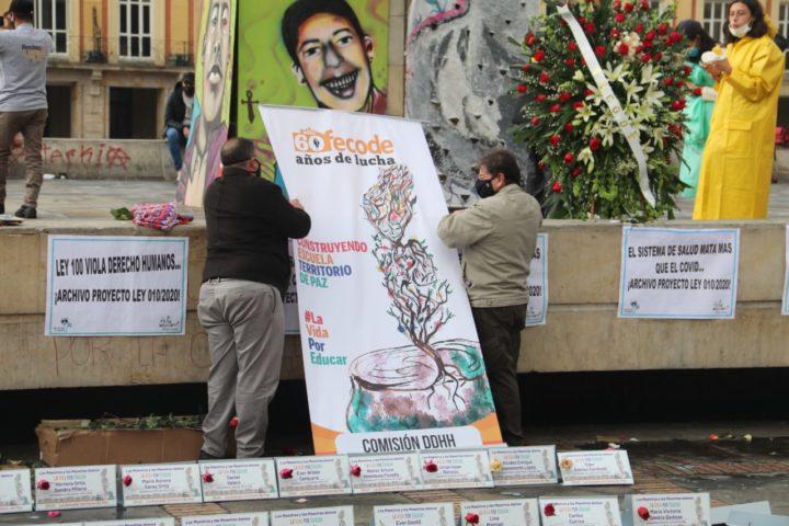 Comunicado conjunto contra la campaña de estigmatización a la Federación colombiana de educadores de Colombia –FECODE