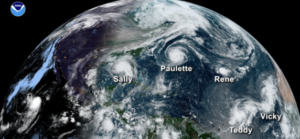The 'Extremely Active' 2020 Atlantic Hurricane Season Officially Ended, with a 'Record-Breaking' 30 Named Tropical Storms…