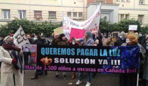 España, La luz sigue sin llegar a la Cañada dos meses y ocho días después