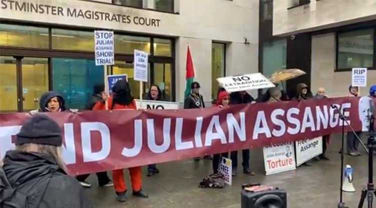 Julian Assange: Urteil im Jahrhundertprozess unter Ausschluss der Öffentlichkeit
