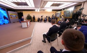 Foreign and Domestic Policies, Coronavirus and Tourism Development Feature at Putin's End-of-Year Media Conference