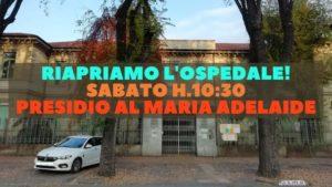 Torino – Riapriamo l'ospedale! Presidio al Maria Adelaide