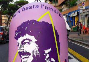 A Roma 75 campane per la raccolta del vetro diventano opere di street art