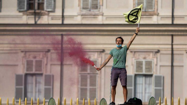 Extinction Rebellion Torino: multe e denunce
