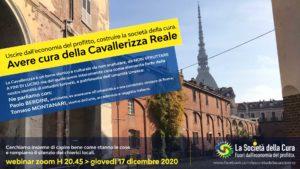 Webminar: Avere cura della Cavallerizza Reale di Torino