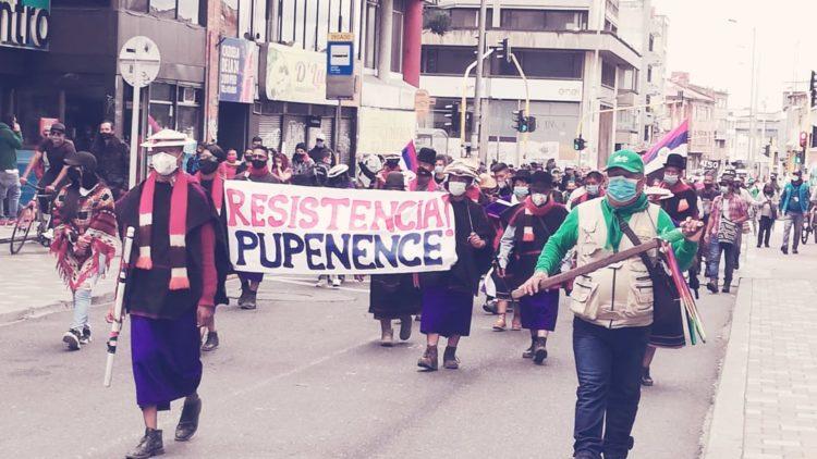 La deuda del gobierno colombiano con la Minga Indígena