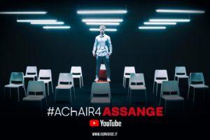 #aChair4Assange, una mobilitazione della società civile