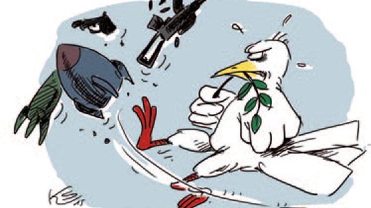 """Bundesweiter Aktionstag für """"Abrüstung und neue Entspannungspolitik"""" am 5. Dezember"""