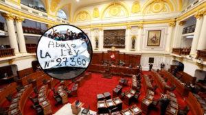[Perú] Congreso deroga ley de promoción agraria