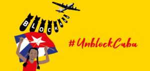 Free Assange goes Unblock Cuba