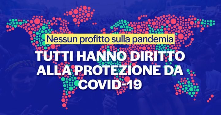 WTO 30 aprile e 5 maggio, ultima chiamata. Sospendere i brevetti per salvare l'umanità