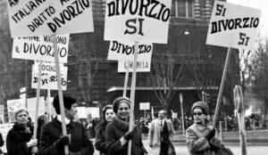 Il divorzio italiano compie cinquant'anni