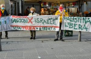 Firenze: presidio per l'autodeterminazione dei popoli saharawi, palestinese, curdo