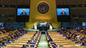 O Secretário-Geral das Nações Unidas informa que o impacto da pandemia pode durar décadas.