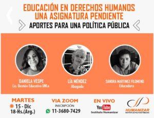 Educación en Derechos Humanos, una asignatura pendiente