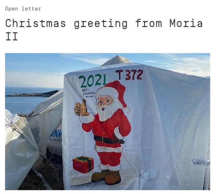Lettera da Moria 2.0 ai cittadini d'Europa
