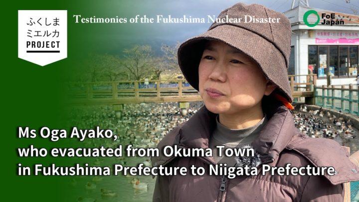 Testimonies of the Fakushima Nuclear Disaster