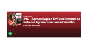 Podcast Cineclube Marighella #13. Luana Carvalho