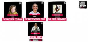 Τα βραβεία για την Ελευθερία του Τύπου 2020 από τους Δημοσιογράφους χωρίς Σύνορα