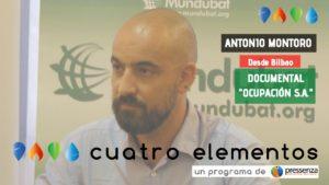 «El capital español hace viable la ocupación en Sáhara Occidental» Antonio Montoro (Mundubat)