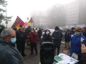 Sciopero nella sanità:  lavoratori e lavoratrici dei due ospedali milanesi si fermano