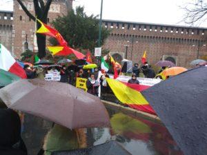Milano: la comunità del Tigray manifesta contro la guerra