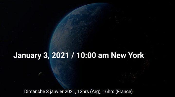 Un instant de connexion mondiale #tousconnectés   03.01.2021