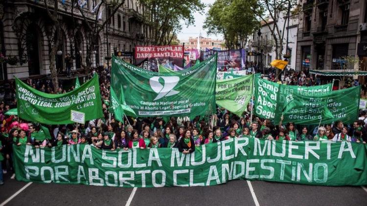 l'avortement c'est une loi en Argentine