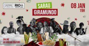 Giramundo: Festival de Arte Preta do Vidigal terá transmissão online amanhã