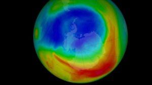 O maior buraco da camada de ozônio é finalmente fechado