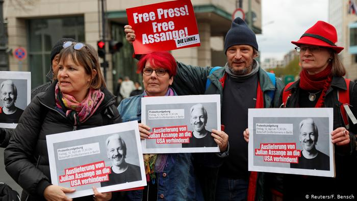 Germany urges UK to uphold human rights in Assange case