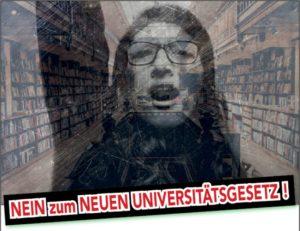 Nein zum neuen Universitätsgesetz