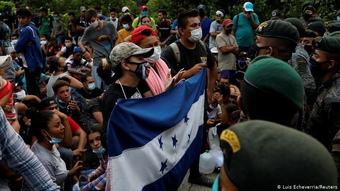Yesmin y los migrantes