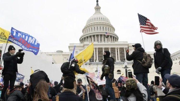 assalto congresso USA