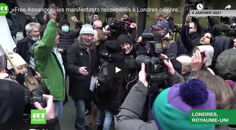 La justice britannique refuse l'extradition de Julian Assange vers les Etats-Unis En savoir plus sur RT France : https://francais.rt.com/international/82371-justice-britannique-refuse-extradition-julian-assange-vers-etats-unis