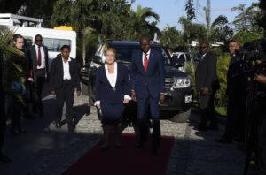 """Haití: Jovenel Moise llamó """"fuerzas inmorales"""" a la oposición que exige su renuncia para febrero"""